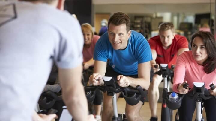 Numero de calorías quemadas en clases de spinning