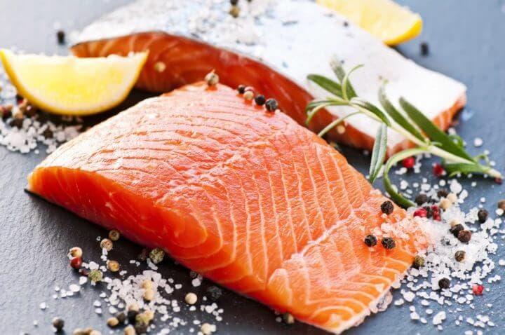 El salmón y la caballa estimulan la circulación sanguínea