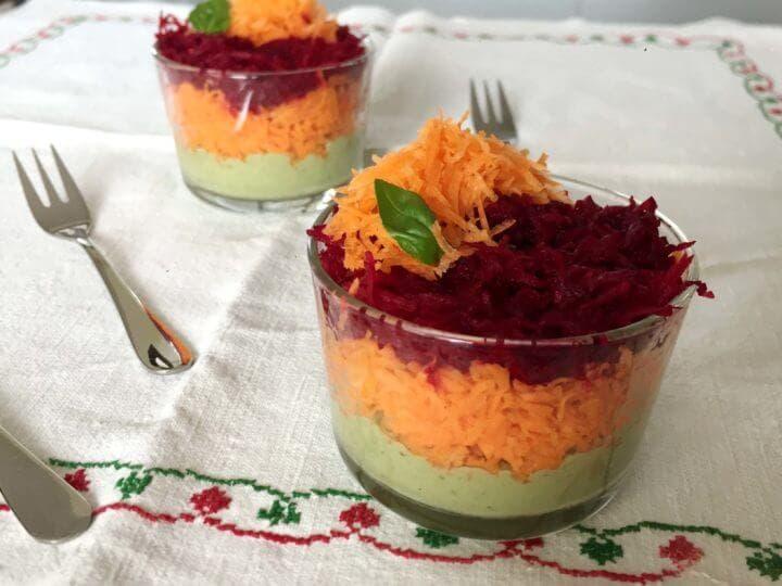 Cena de remolacha y zanahoria que cualquiera puede hacer