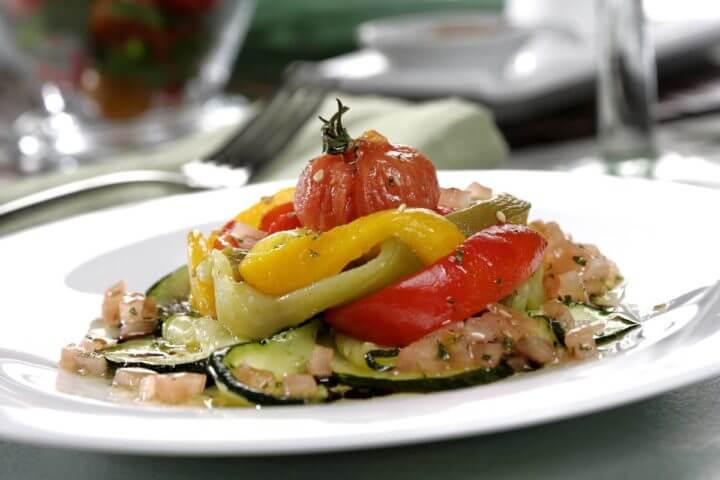 Receta de ensalada de verduras para cenar