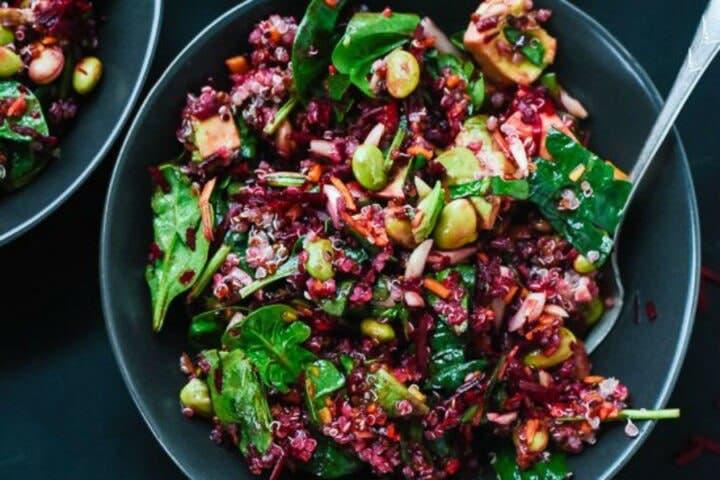 Cómo preparar ensalada fácil de remolacha y zanahoria