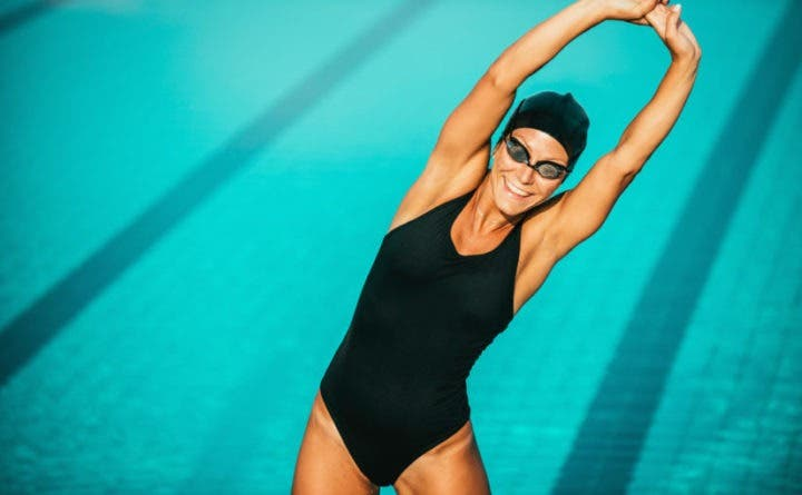 ¿Cómo calentar antes de practicar natación?