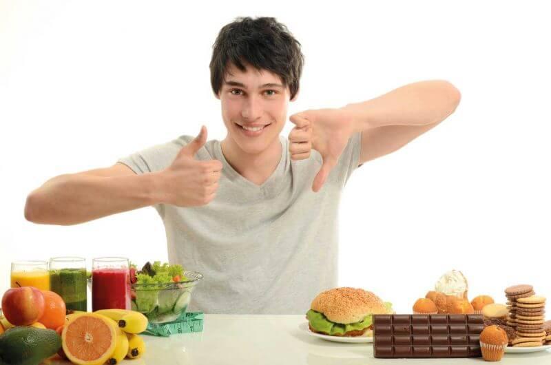 Resultado de imagen para adolescentes comiendo saludable