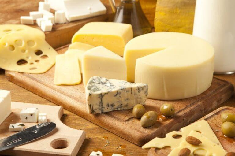 Los 5 tipos de queso más saludables