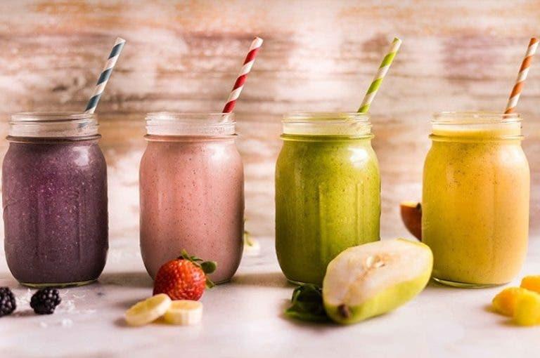 7 smoothies irresistibles para perder peso