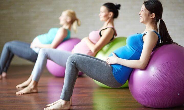 Ejercicios adecuados para el tercer trimestre de embarazo