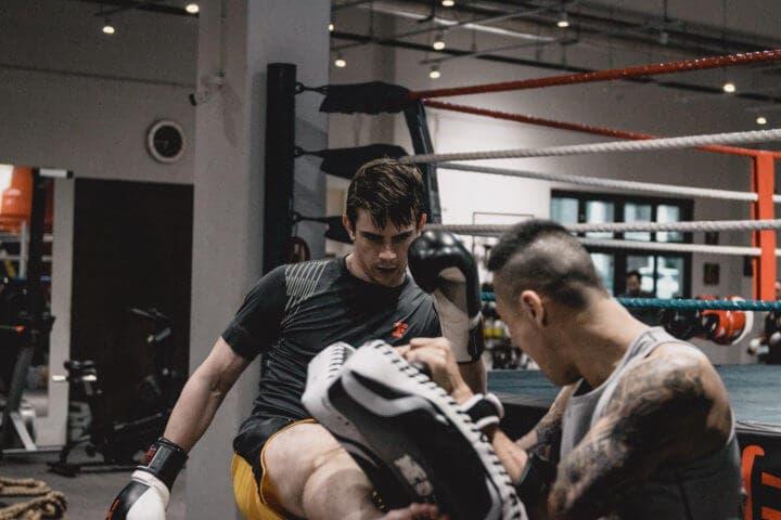 Movimientos que se practican con el Muay Thai