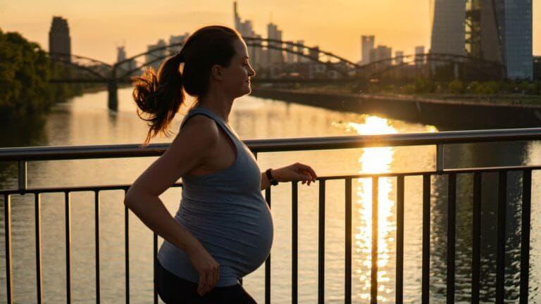 Mejor forma de practicar running en el embarazo