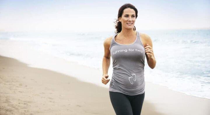 Cómo practicar running si estás embarazada