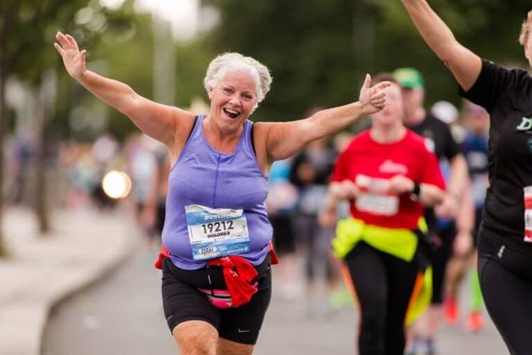 Beneficios de una primera maratón para personas mayores
