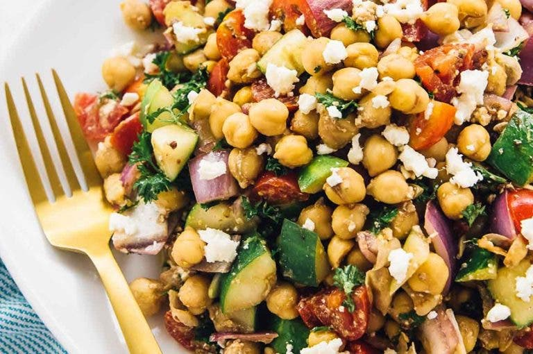 6 recetas saludables relacionadas con la dieta mediterránea