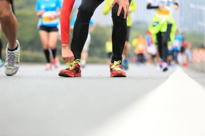 Problemas de utilizar prendas nuevas en competición de running