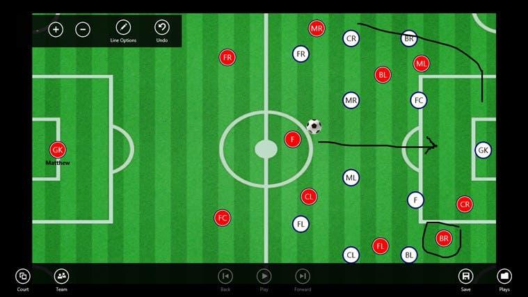 Apps para diseñar tácticas de fútbol