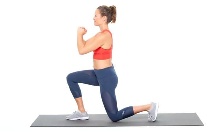 Zancadas para hacer ejercicio en casa