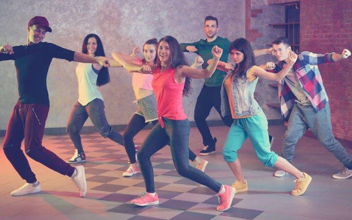 Bailar es una buena forma de entrenar