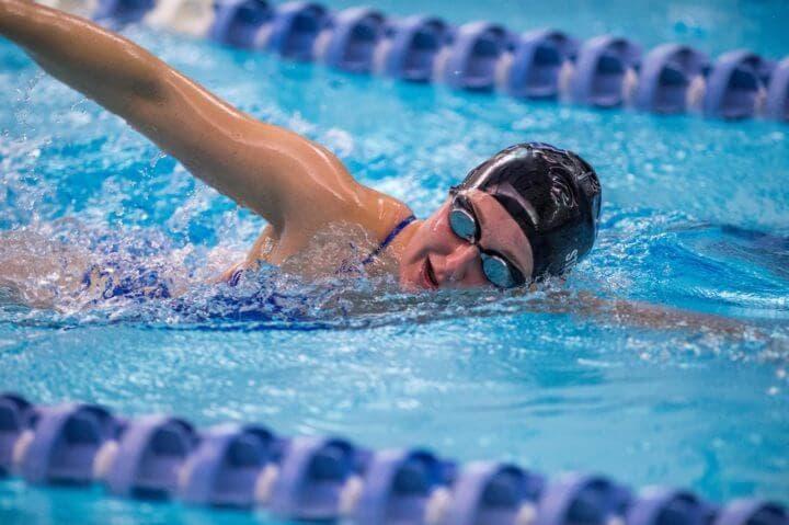 Rutina de natación para principiantes