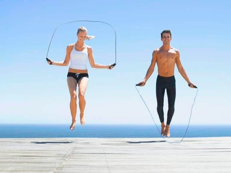 Rutina de salto de cuerda realmente efectiva