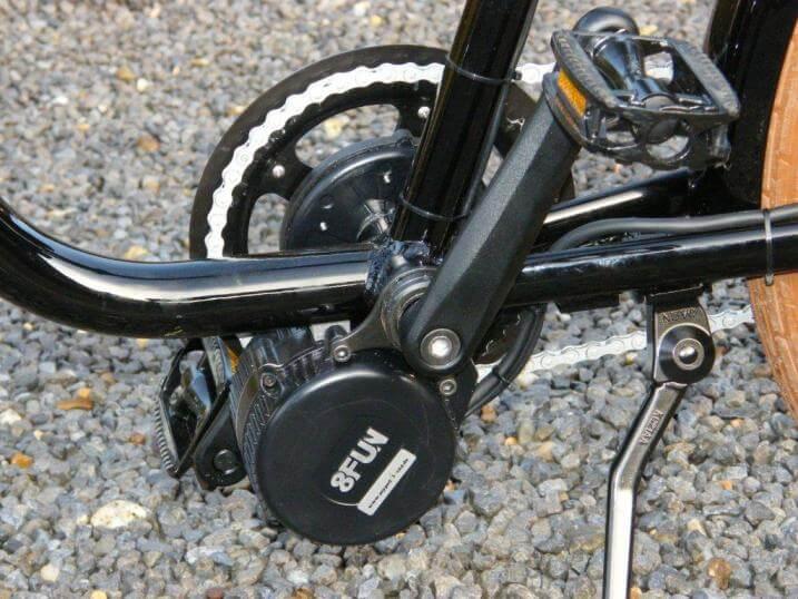 Motores de las bicicletas eléctricas
