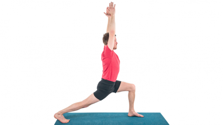 Ejemplo de poses para Bikram Yoga