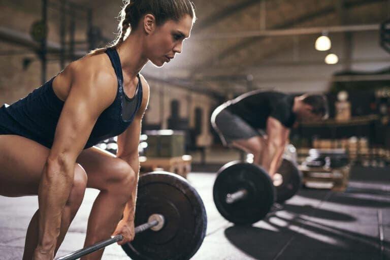 Las series de 5x15 ayudan a ganar masa muscular