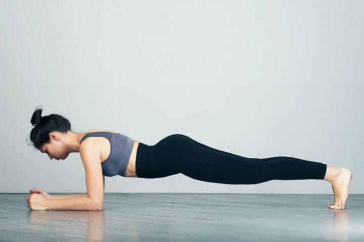 Planks para entrenamiento de peso corporal