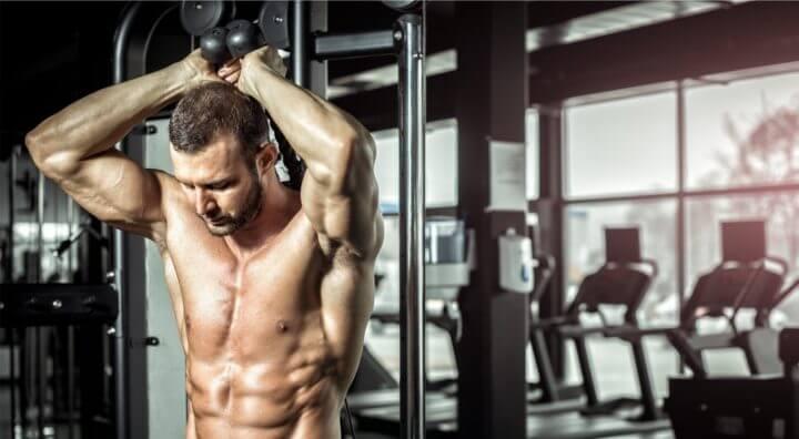 Entrenamiento efectivo para la musculación del tríceps