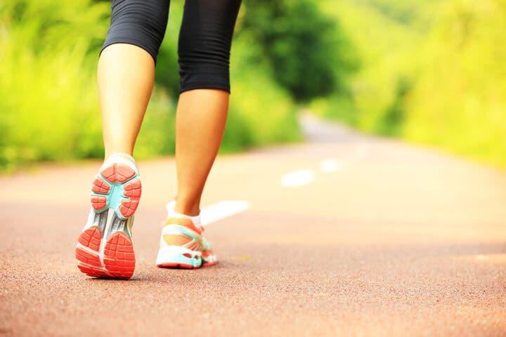 Calentamiento para un entrenamiento HIIT de running