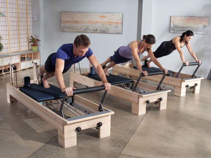 Entrenamiento de core con el Pilates Reformer