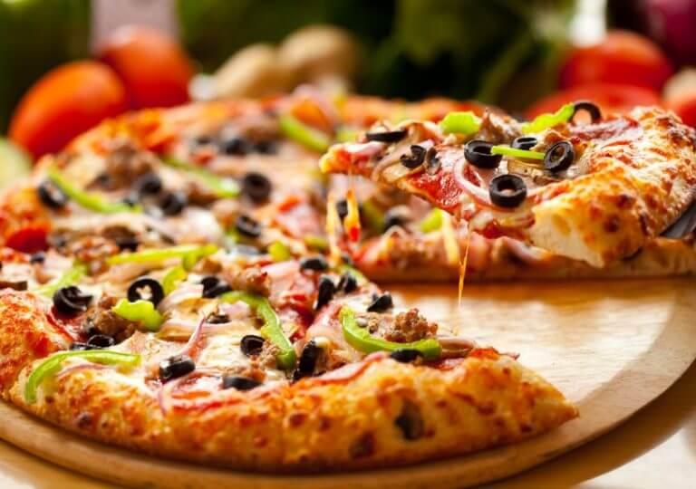 4 opciones de pizzas saludables para el desayuno