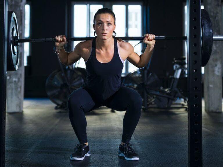 ¿Cuál es el volumen real de un entrenamiento de pesas?