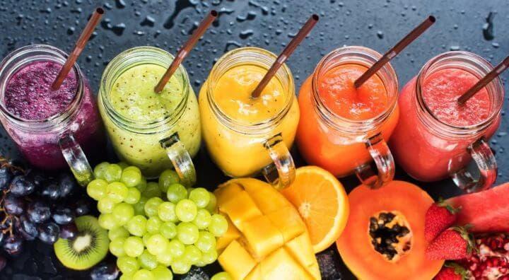 Los beneficios de beber batidos de frutas y vegetales