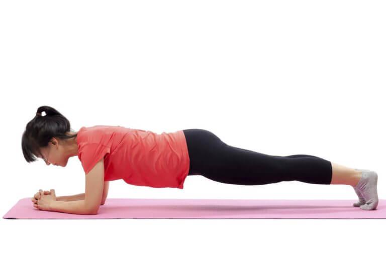 Cómo hacer que tus planks sean más efectivas