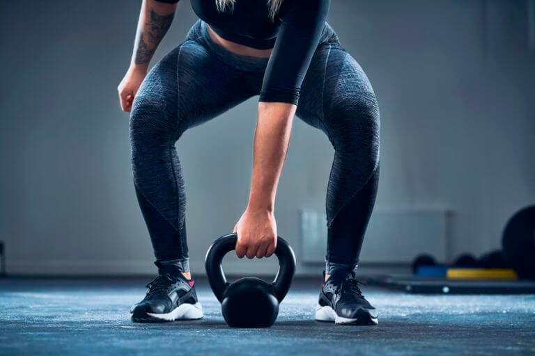 Ejercicios con kettlebell para trabajar músculos estabilizadores