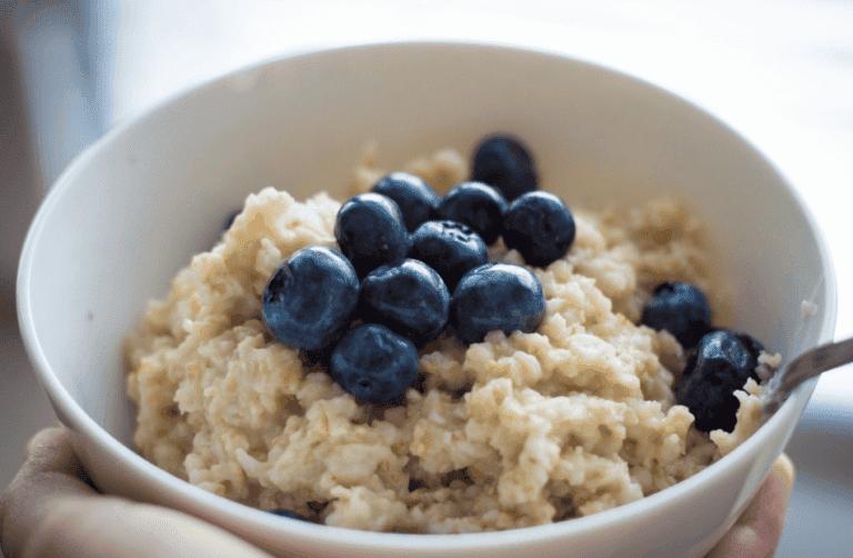 Desayuno con avena recomendado por dietistas