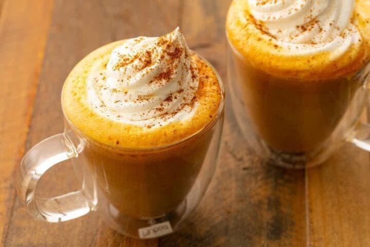 ¿Cómo hacer un latte de calabaza saludable?