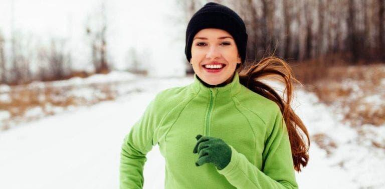 Cómo proteger la piel del frío al hacer ejercicio