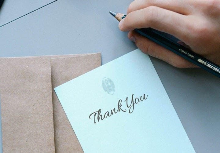 Ser agradecido puede mejorar tu vida