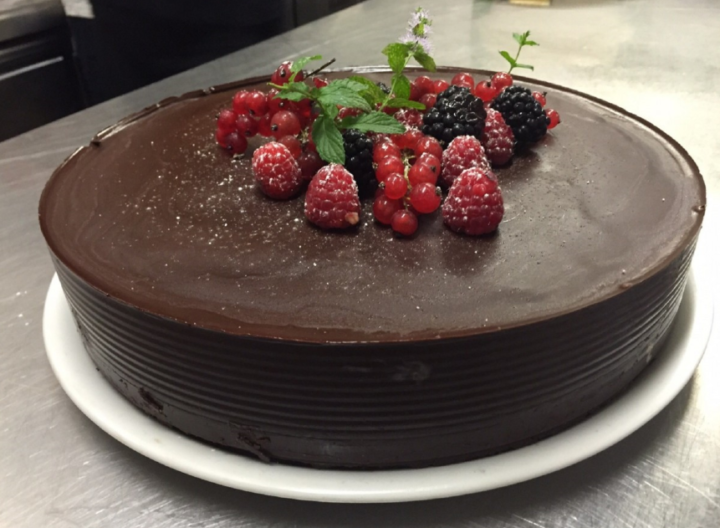 Receta de tarta de chocolate saludable sin harina