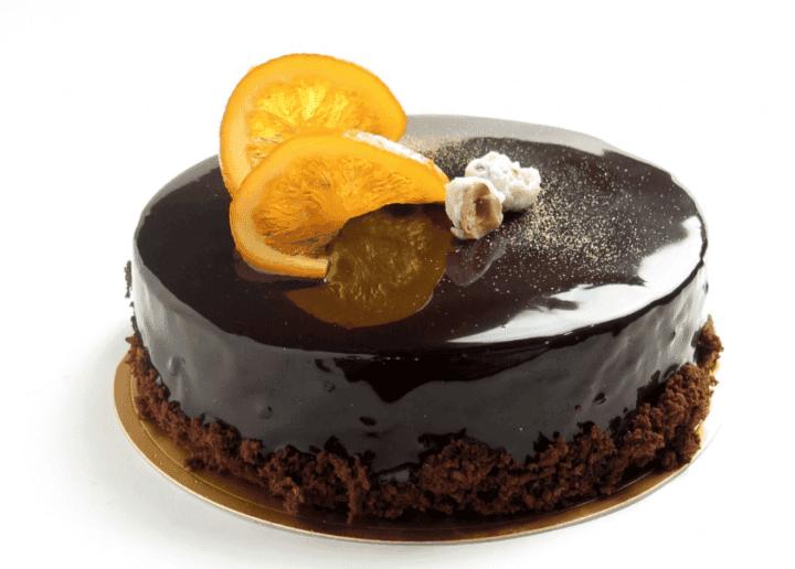 Tarta de chocolate alemán saludable