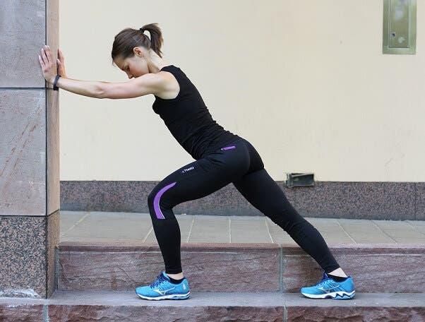 Activación muscular de los gemelos