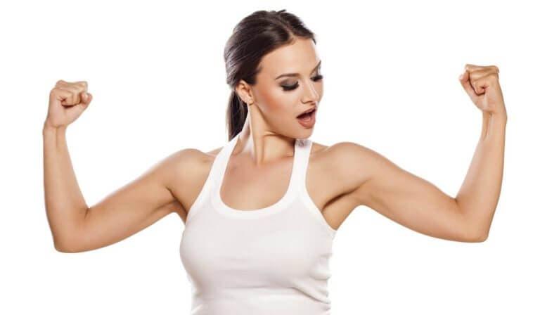 Programa de entrenamiento para crear unos brazos fuertes