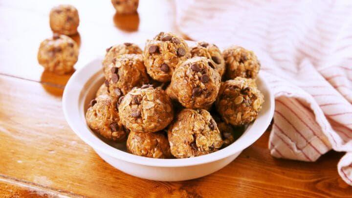 Las mejores recetas de bolas de proteína