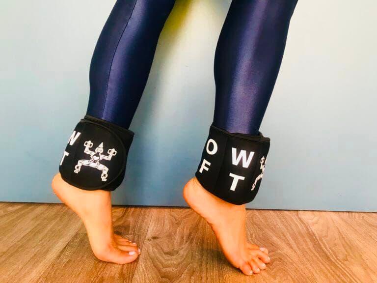 Beneficios de entrenar con pesas en los tobillos