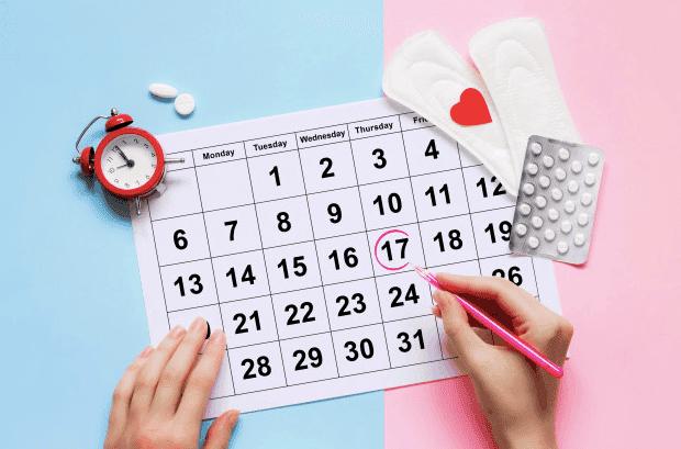 Razones por las que la menstruación dura un día