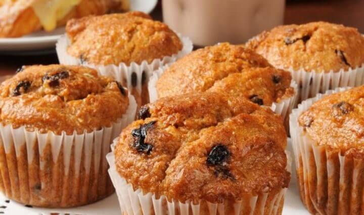 Receta de muffins para runners