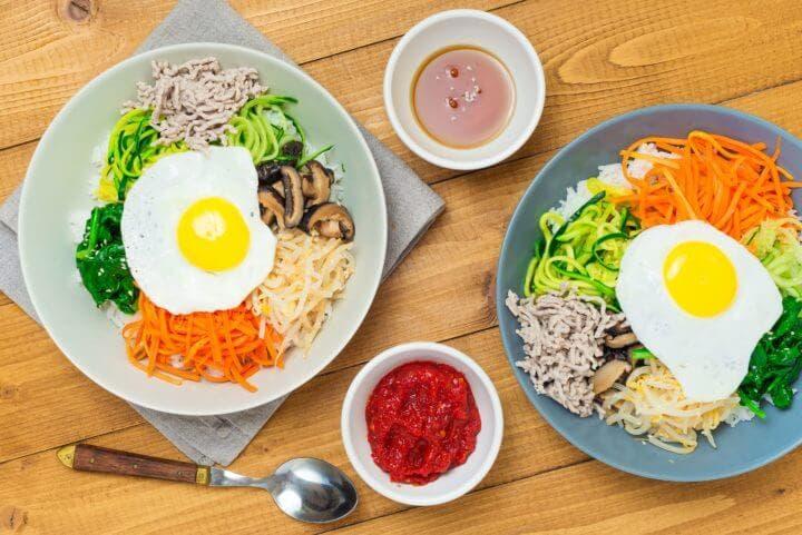¿Cómo hacer más deliciosa la receta asiática de arroz bibimbap?