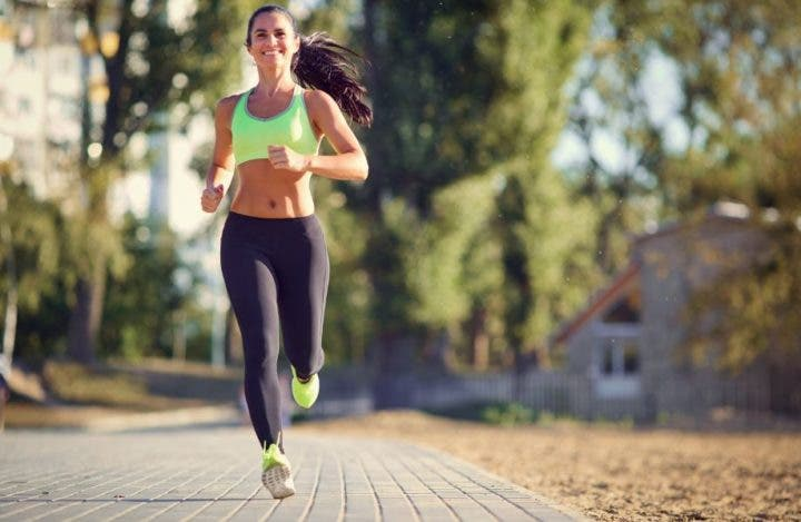 Respirar rítmicamente mientras corres