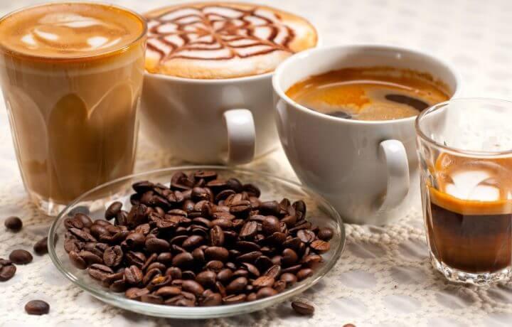 ¿Como diferenciar los tipos de bebidas de café?
