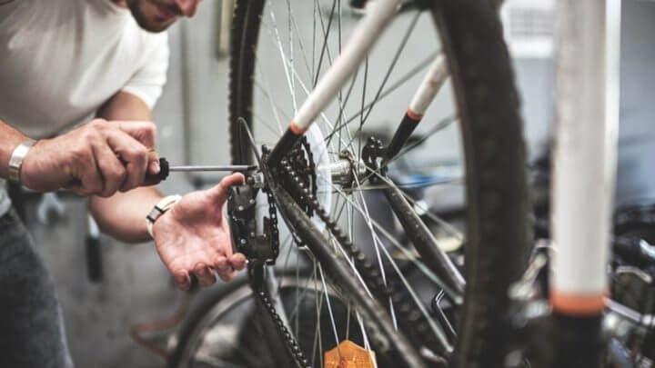 Aprende el mantenimiento básico de tu bicicleta
