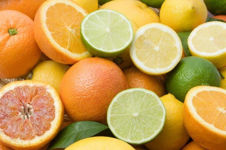 Muchos alimentos ácidos son muy saludables